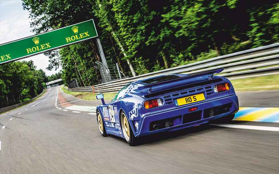 Rémi Dargegen / Bugatti EB110 Le Mans