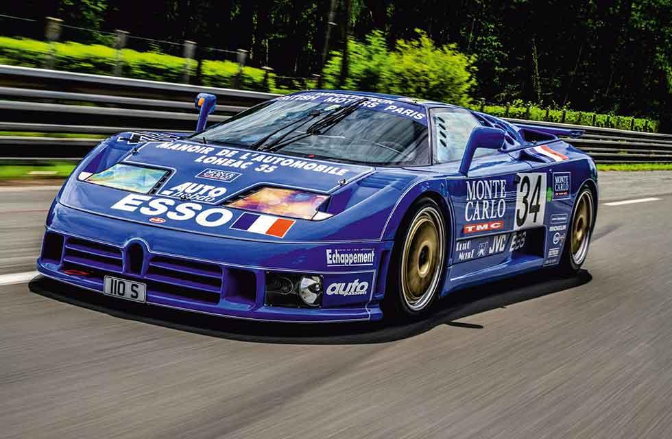 1994 Bugatti EB110 Le Mans