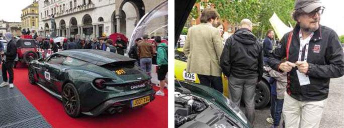 Zagato road show on the Mille Miglia