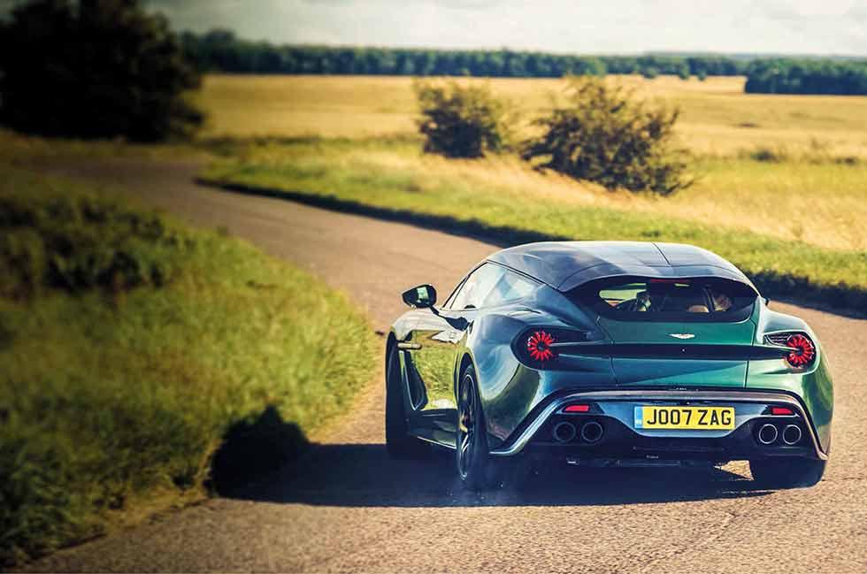 2020 Aston Martin Vanquish Zagato Shooting Brake