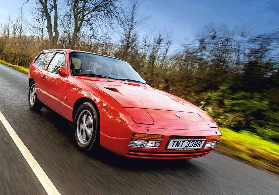 1976 Porsche 924 Turbo DP Cargo - retro road test-review
