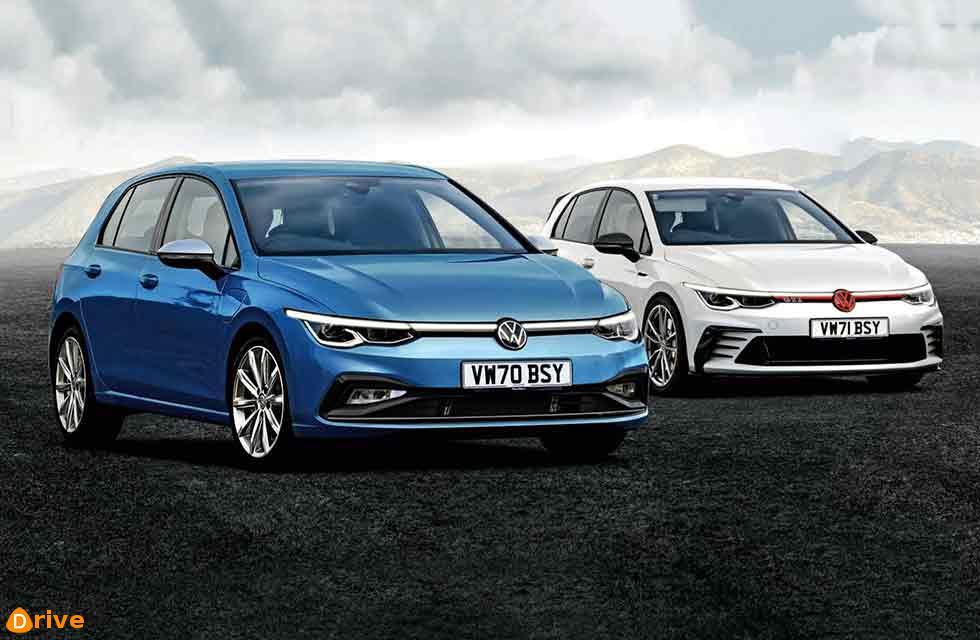 Volkswagen Golf High-tech Mk8 arrives this month