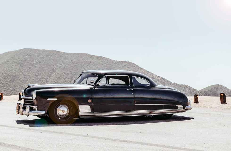 The ICON 'derelict' 1949 Hudson Coupe is an old-school ride with modern muscle - 630-horsepower V8 elevates this badass barn find into supercar status.