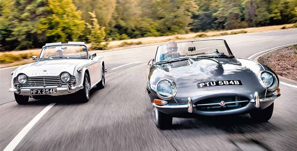 1964 Jaguar E-type S1 3.8 Roadster