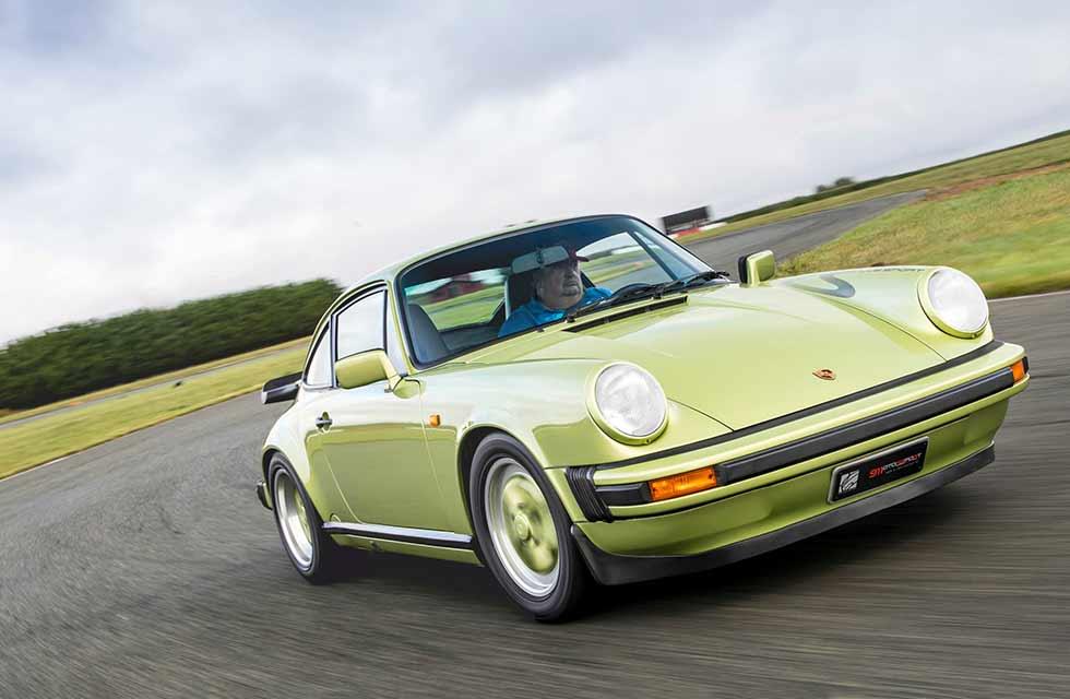 1987 Porsche 911 3.2 Clubsport - driven