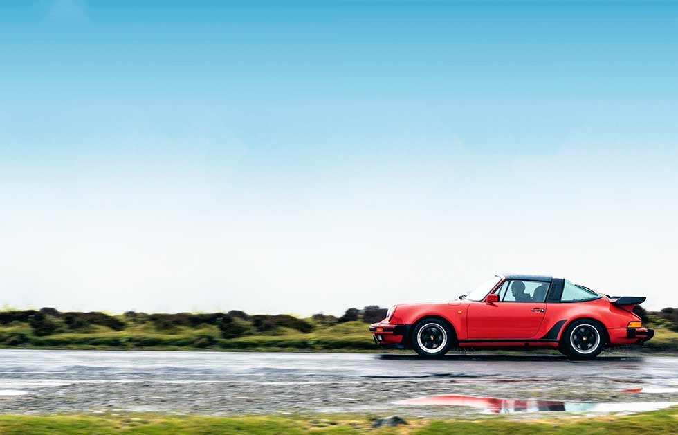 1989 Porsche 911 Targa Supersport 3.2