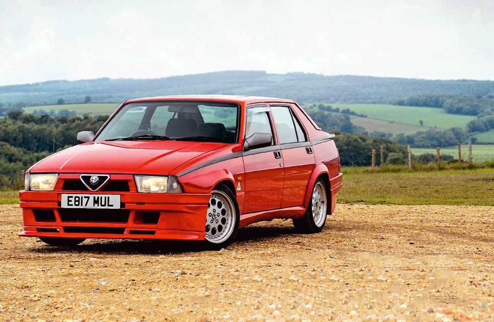 Steve Hall / 1990 Alfa Romeo 75 V6 Cloverleaf