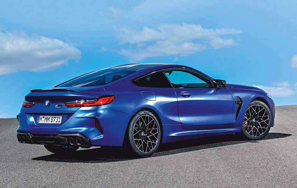 2020 BMW M8 Competition Coupé F92 - road test