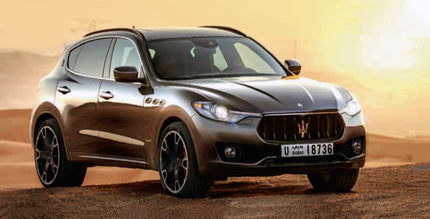 Maserati's smaller SUV