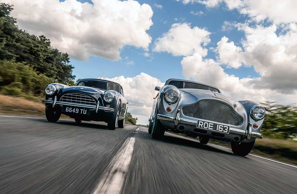 Olgun Kordal / AC Aceca 2.6 vs. Aston Martin DB MkIII - comparison test-review