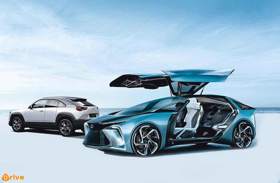 Lexus and Mazda bite the EV bullet
