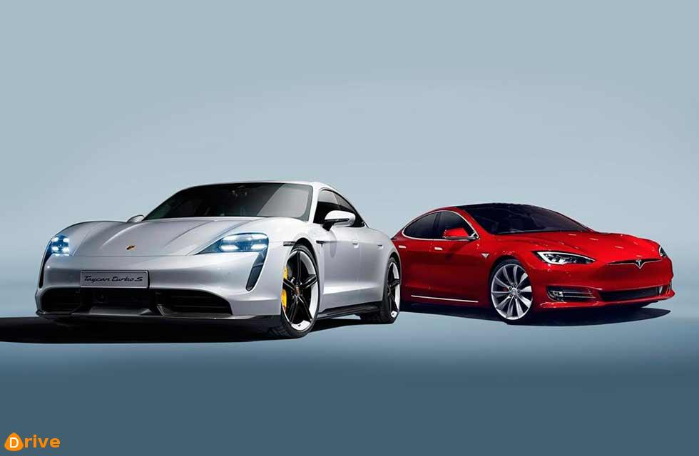 Porsche Taycan Turbo S vs Tesla Model S
