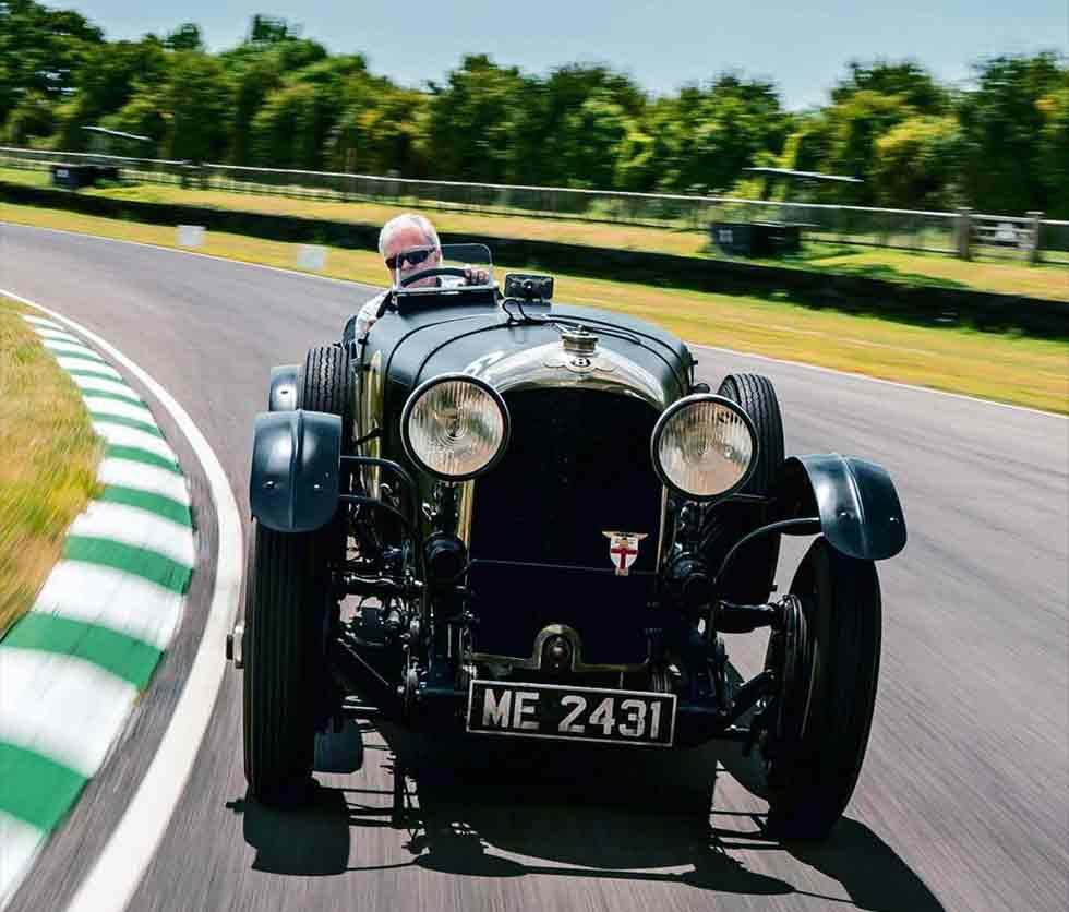 1922 Bentley 3/4½ Litre EXP4 - driven