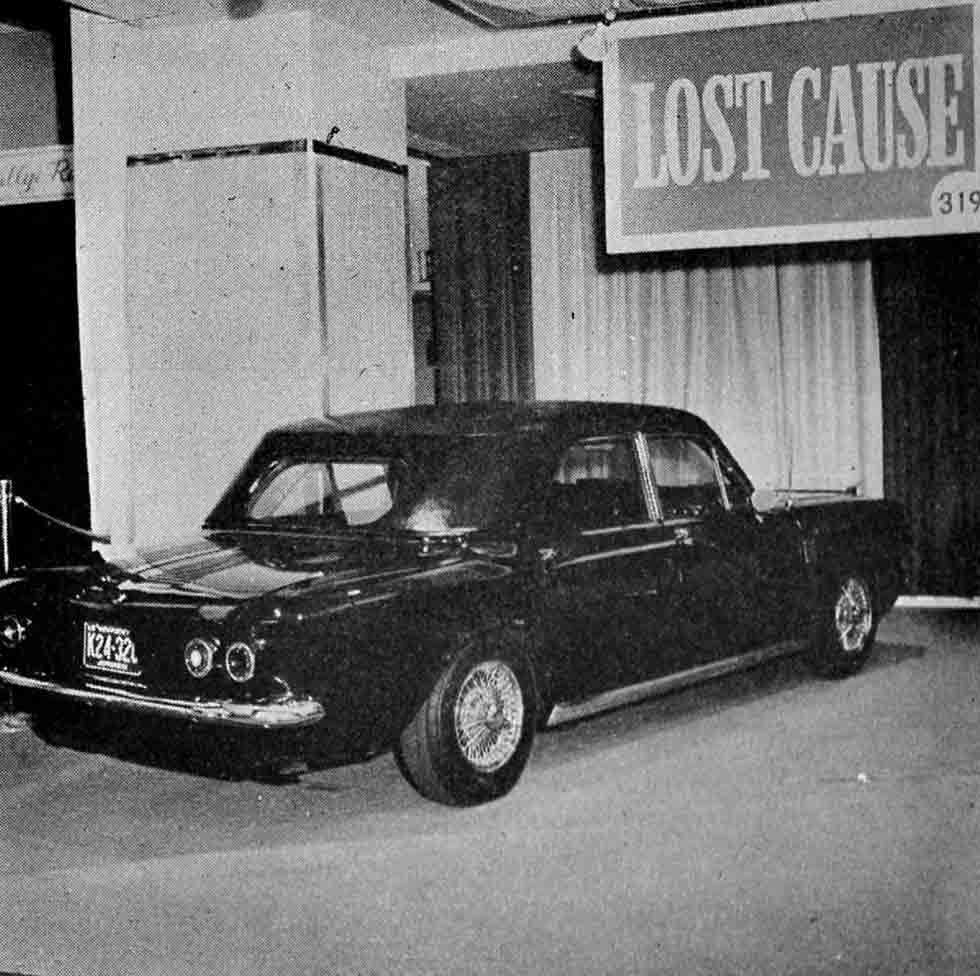 1963 Lost Cause - Chevrolet Corvair Limousine