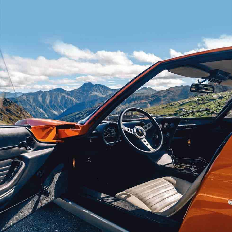Italian Job 1969 Lamborghini Miura returns to the roads that made it famous