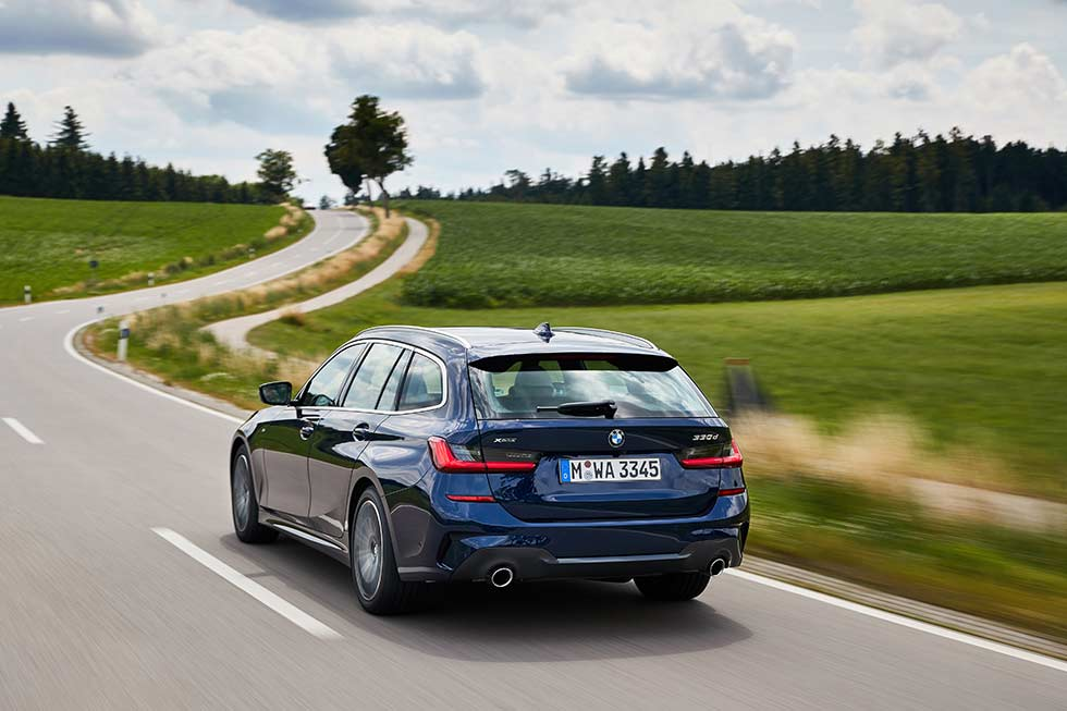2020 BMW 330d xDrive Touring M Sport G21