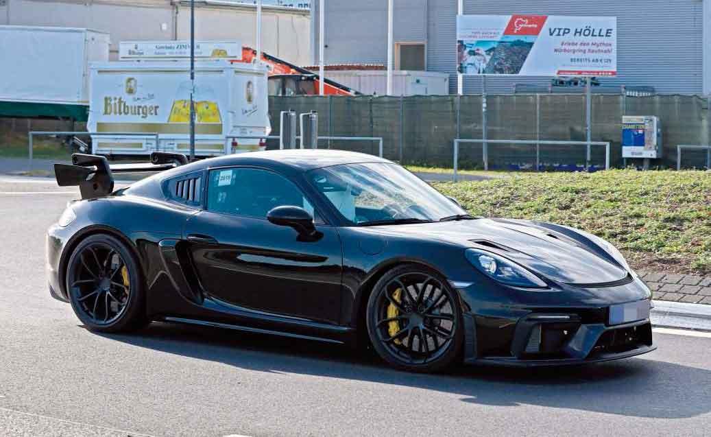 Porsche preps hardcore 718 GT4 RS