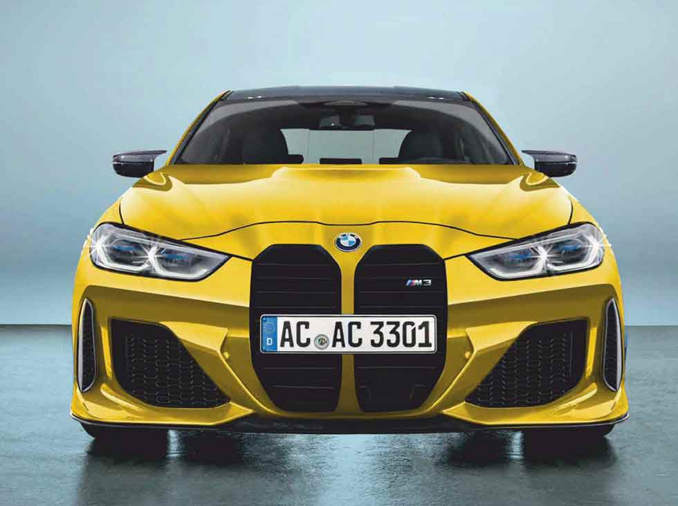 Daring styling for BMW's incoming 2021 M3 G80/M4 G82