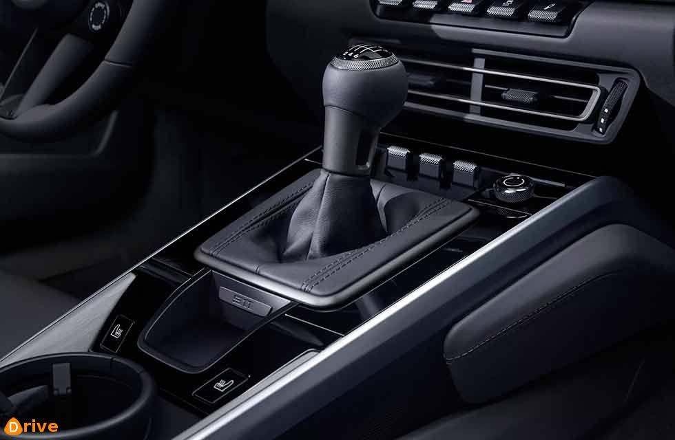 Manual gearbox for latest 2020 Porsche 911 Carrera 992