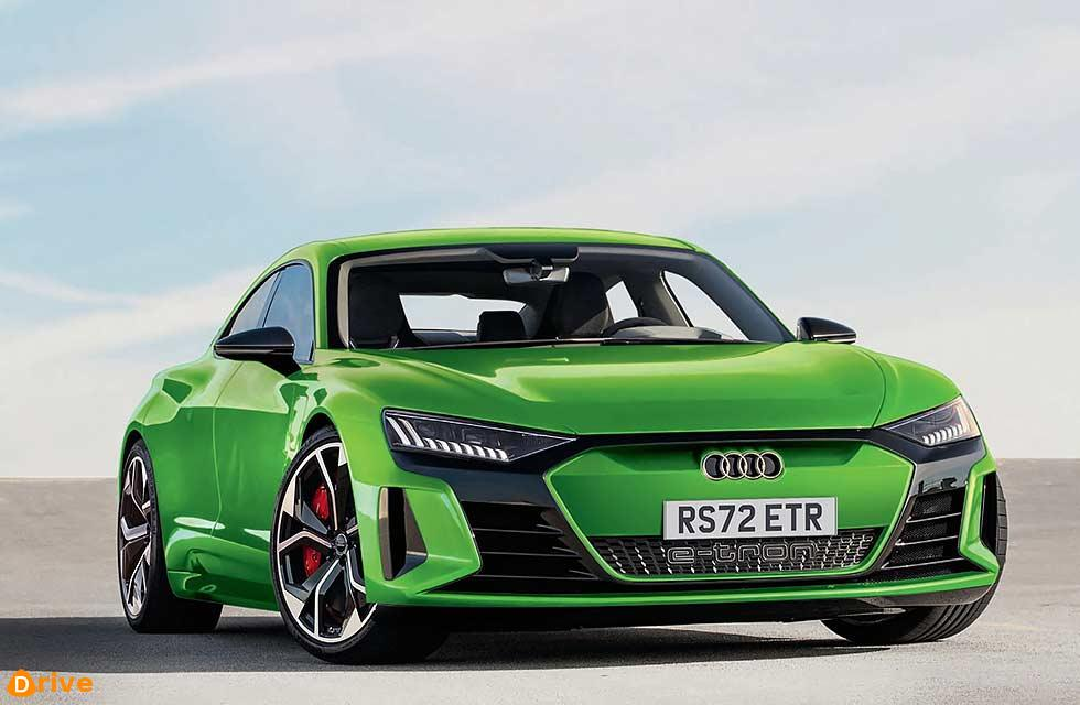 Audi Sport goes electric RS badge for E-tron GT