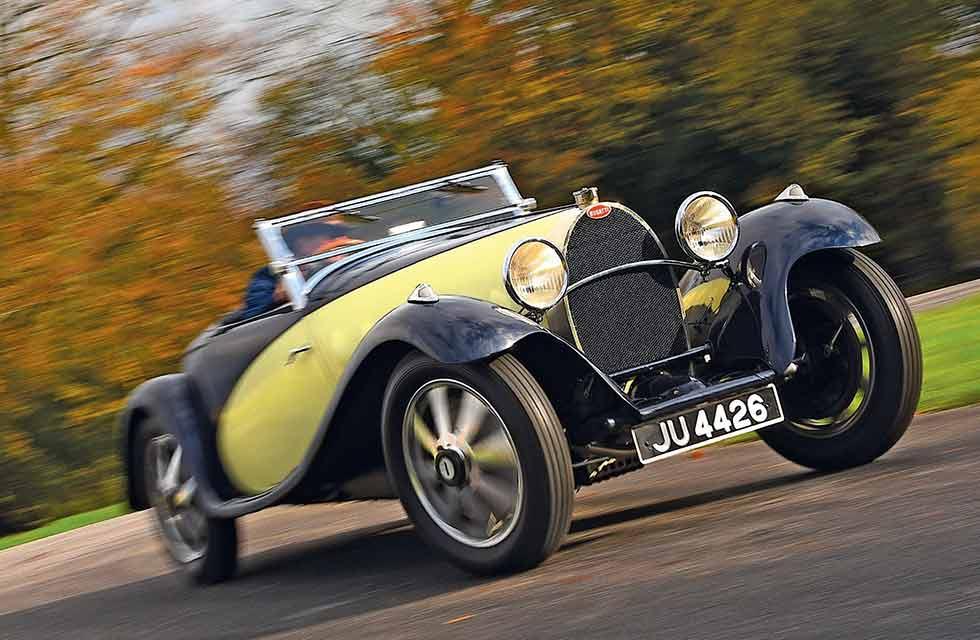1932 Bugatti Type 55 Roadster coachwork by Figoni