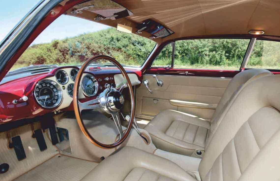 Ghia-bodied 1952 Jaguar XK120 Supersonic