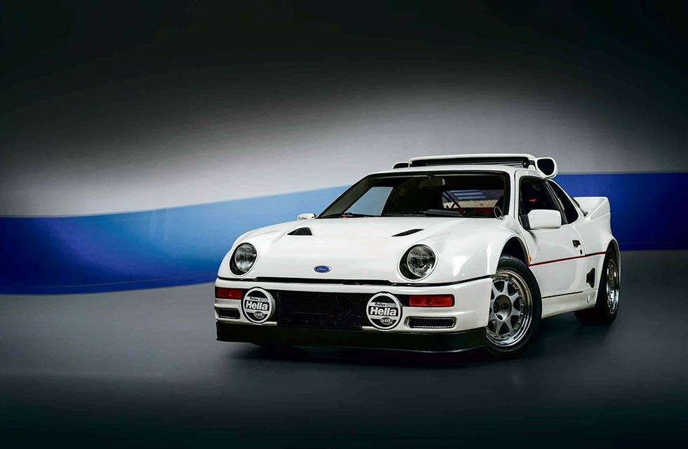 1986 Ford RS200 road spec
