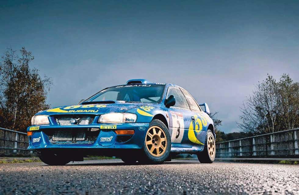 1997 Subaru Impreza WRC RA