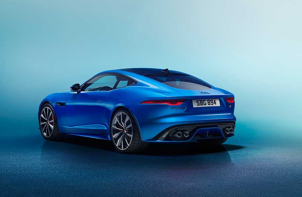 Facelifted 2021 Jaguar F-type revealed
