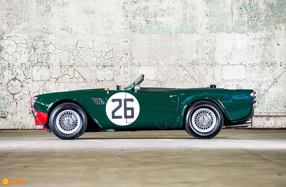 rare 1960 Triumph TRS with Le Mans provenance