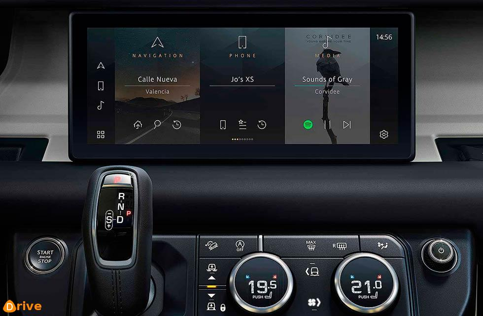 2021 Land Rover Defender launches Pivi Pro