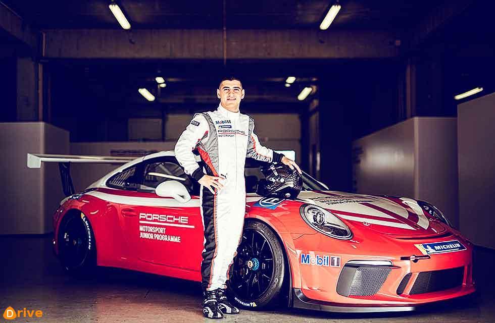Ayhancan Güven is the new Porsche Junior