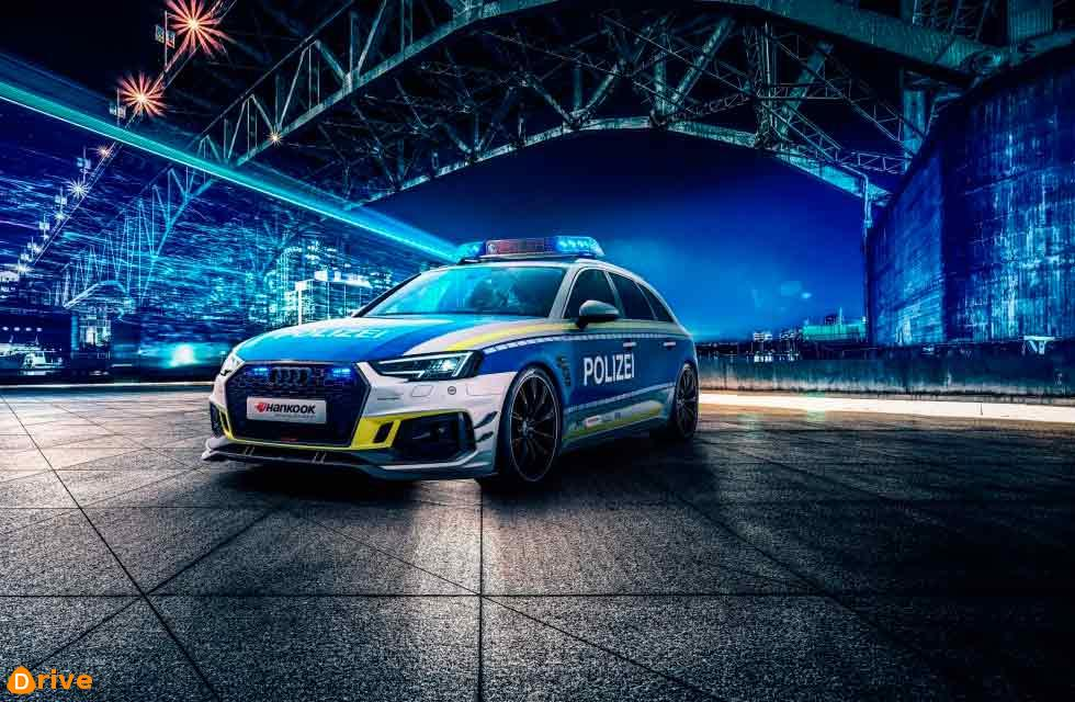 Polizei 2021 Audi RS4-R was built by ABT Sportsline
