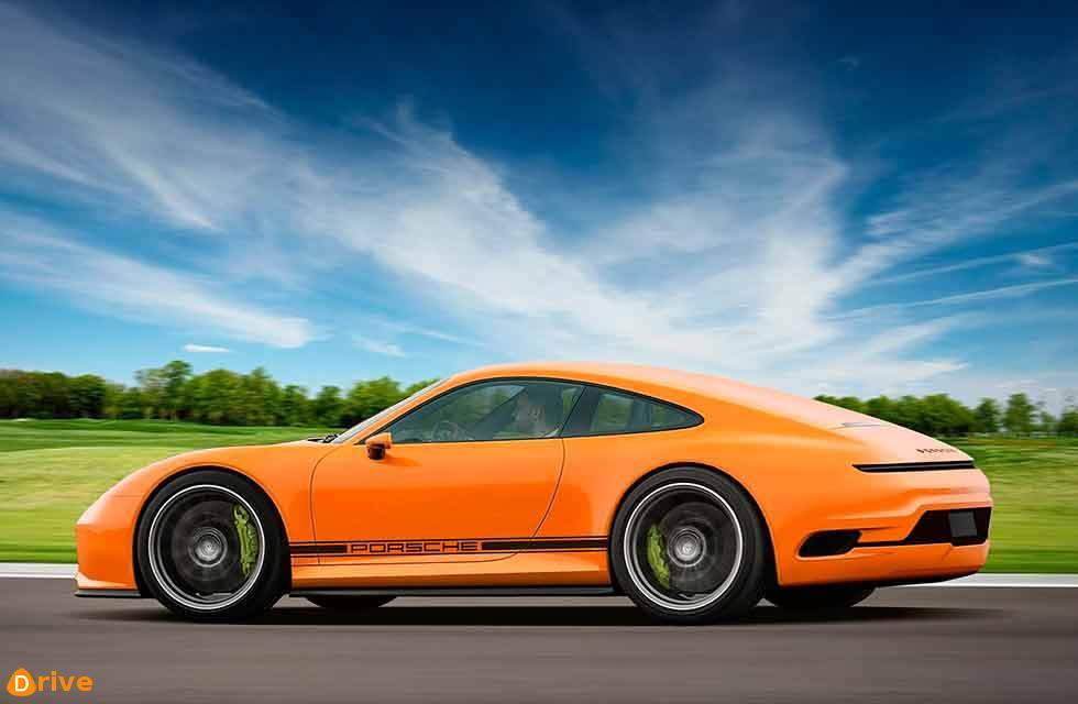 2021 Porsche 911 EV 992