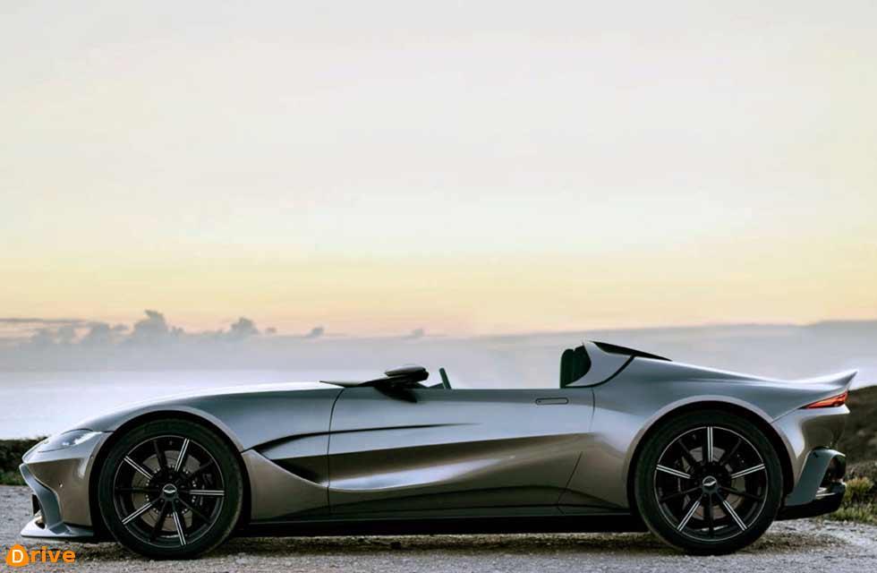 Le Mans inspires Aston Speedster