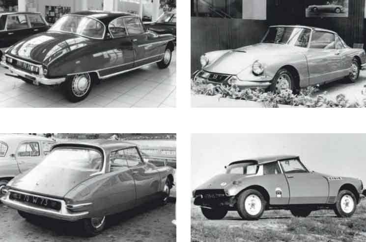 DS coupé 1954