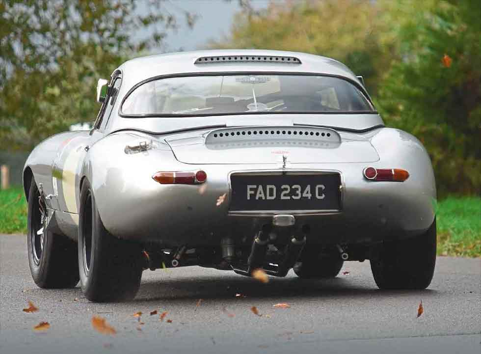 1965 Jaguar E-type Lightweight evocation