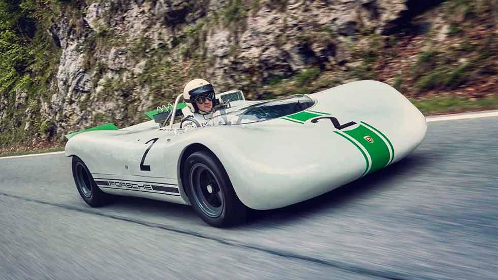 1968 Porsche 909 Bergspyder - driven