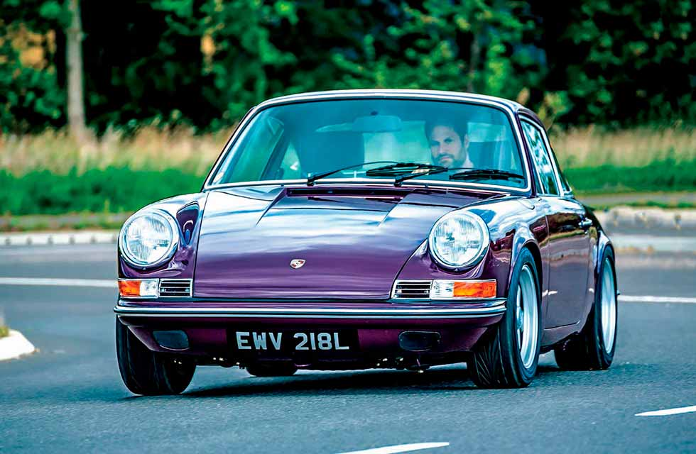 Oshe's latest project Workshop Seventy7 1973 Porsche 911T
