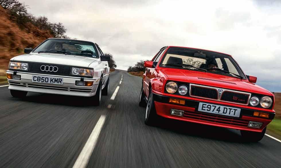 1987 Lancia Delta HF Integrale 8V vs. 1980 Audi Quattro 10V