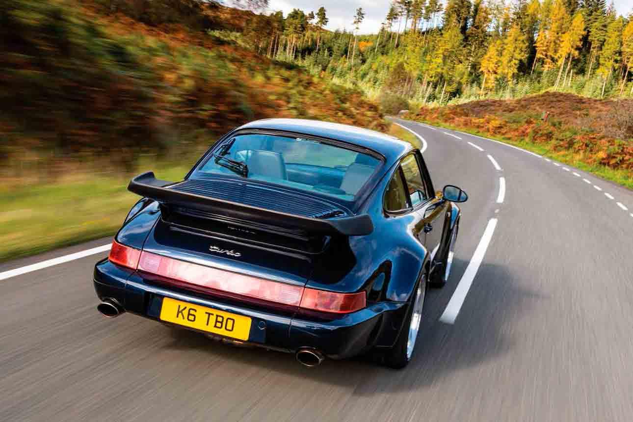 SP Autobahn's tuned 470bhp 1992 Porsche 911 Turbo 3.3-litre 964