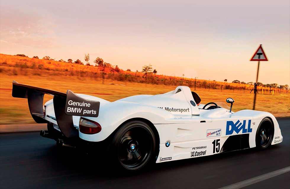 Road-legal tribute BMW V12 LMR Prototype