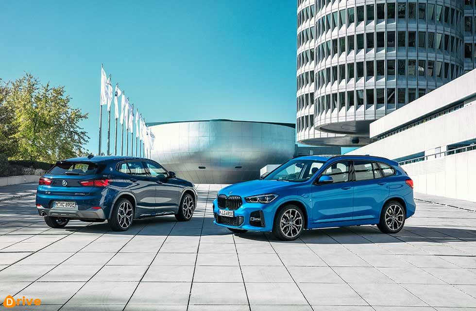 New 2021 BMW X1 F48 and 2021 BMW X2 xDrive25e F39 announced