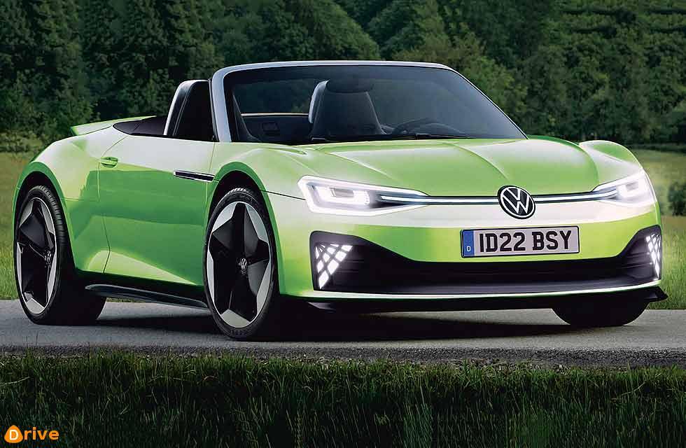 VW ID R sports car Electric performance flagship