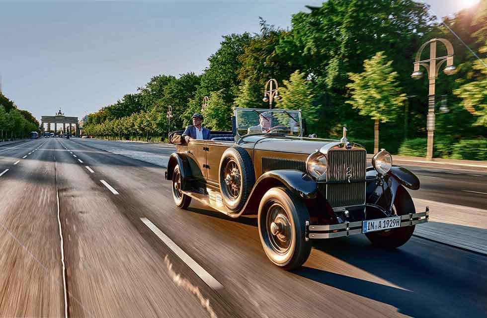 1929 Audi Type R Imperator in Berlin