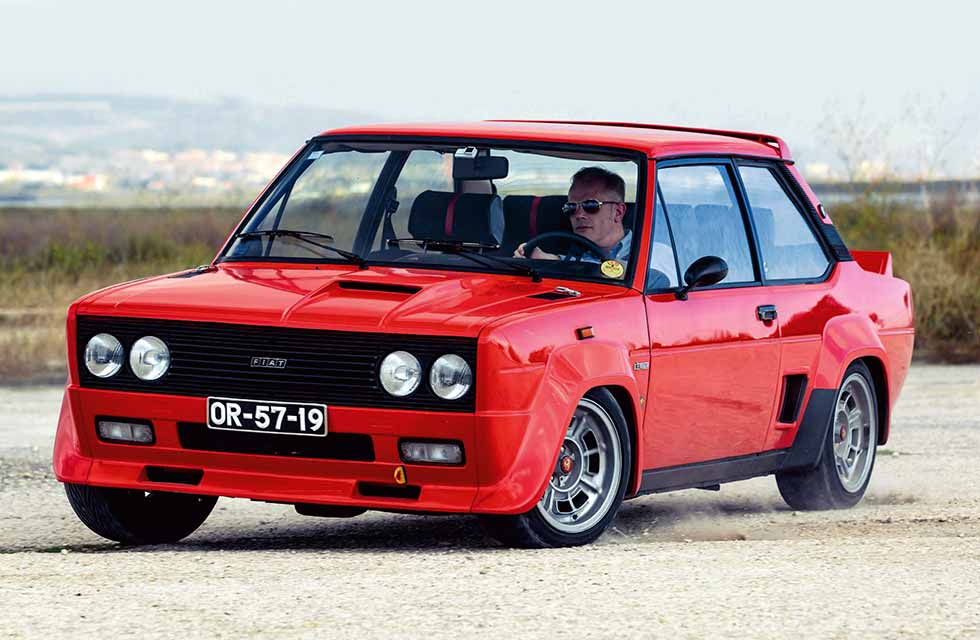 Rally icons: Markku Alén & 1975 Fiat-Abarth 131 Stradale