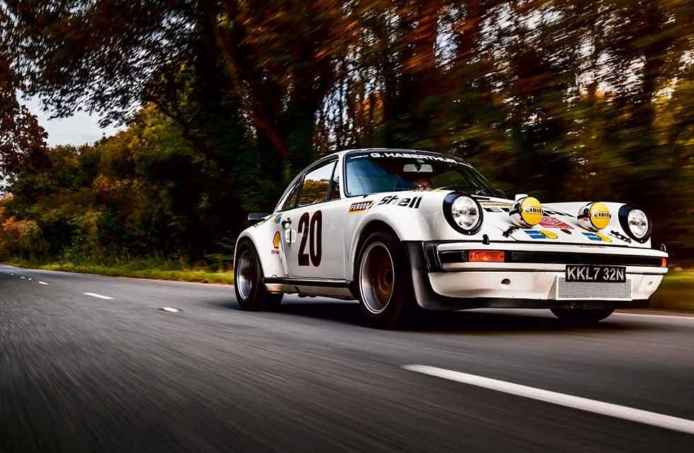 Le Mans GTX-Class 1975 Porsche 911 Turbo 930
