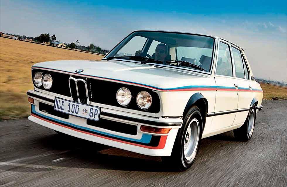 1976 BMW 530 MLE E12