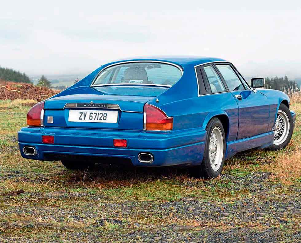 Lynx tuned 1988 Jaguar XJ-S - ZV 67128 - road test