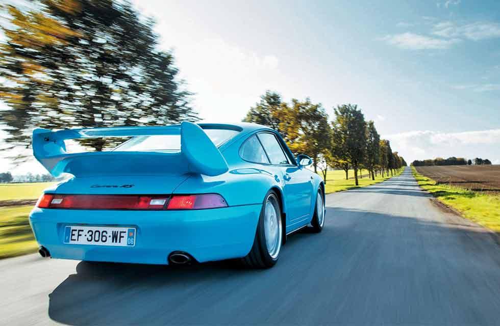 1995 Porsche 911 Carrera RS Club Sport 993